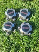 4 Gmc Sonoma Ralley Wheel Center Caps 1983 And Up To 91