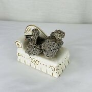 Vintage 50s Thames Gray Spaghetti Poodle Couch Sofa Chaise Figurine Bookend