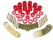 1 111 Prothane 1 111 Red 1 Lift Body Mount For Cj5 And Cj7