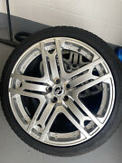 Landrover / Range Rover Sport Kahn 23andrdquo Rs600 Alloys + Continental Tyres