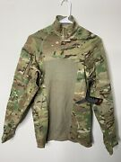 Brand New Army Combat Shirt Type Ii 3/4 Zip Flame Resistant Multicam Small