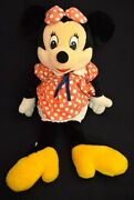 Sun And Star Stuffed Toy Plush Minnie Mouse L