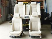 2006 - 2008 Bmw 7 Series E65 Seats Leather Set Interior W Cup Holder Front Rear