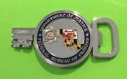Rare Federal Bureau Of Prisons Fci Cumberland Maryland Police Challenge Coin
