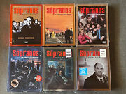 Sopranos Tv Series Dvd Seasons 2 - 6 Parts 1 And 2 Brand New - Sealed