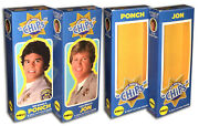 Mego Chips Boxes For 8 Action Figures Set Of 2 Boxes Only
