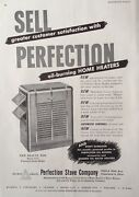 1948 Adj27perfection Stove Co. Perfection Oil Burning Home Heaters