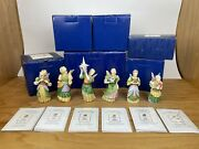 Lot Of 6 James Christensen Angel Christmas Ornaments Figures Andldquogift Of Andhellipandrdquo Series