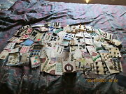 Huge Lot Of Vintage Buttons Loose And On Cards
