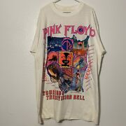 Vintage 1994 Pink Floyd Division Bell Concert Tour T Shirt Xl Tall 2 Sided 90s