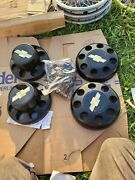 4 - Nos-1988/ To /2000 Chevy /gmc 8 Lug  Center Caps Truck And Van