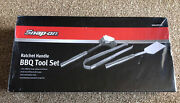 Snap On Ratchet Handle Barbecue Bbq Tool Set New Ssx20p109 Tools Mechanic Gift
