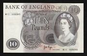 Andpound10 M11 Replacement Page 1971 Bank Of England M11 058065 Aunc B327. Rare