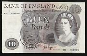 Andpound10 M11 Replacement Page 1971 Bank Of England M11 058066 Aunc B327 Rare