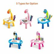 Children Learning Desk Trace Draw Projector Art Drawing Board Projection Tracing