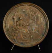 Medal Grand Seal Marie Therese D Austria 17th 18th Queen Vienne Lorthior C1770