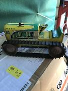 Vintage Marx Toys Climbing Tractor Tin Wind Up Toy Parts Repair