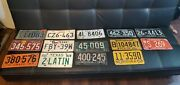 Vintage License Plate Lot Of 14 From 1931-1992