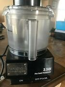 Waring Commercial Wfp14s Food Processor, 3.5-quart, W/ 2 Bowls And Whipping Blade