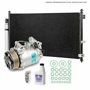 For Ford Focus 2012 2013 2014 2015 Oem Ac Compressor W/ Condenser Drier Csw