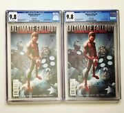 Lot Of 2 Ultimate Fallout 4 Both Cgc 9.8 2nd Print - 1st App Miles Morales