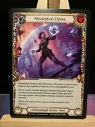 Flesh And Blood Tcg Crucible Of War 1st Edition Absorption Dome Non Foil