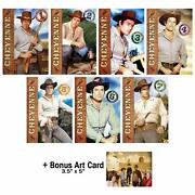 Cheyenne Complete Classic Western Tv Series Seasons 1-7 Dvd Collection With Bon