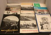 1957-69 Norfolk And Western Magazine Lot Of 26 Railroad Rr Trains Magazines