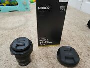 Nikon Nikkor Z 14-24mm F2.8 S Ultra-wide Zoom Lens Perfect Condition