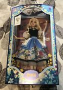 Disney Alice In Wonderland Doll Mary Blair Limited Edition 70th Anniversary