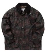 Noah X Barbour Paisley Bedale Waxed Jacket Size L Spring Summer 2021