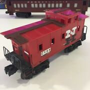 Lionel Trains Postwar O Scale Model Train Lionel Red Caboose Nh C123 Preowned
