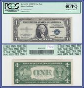 Star Note 1935f 1 Silver Certificate Dollar Pcgs 40 Ppq Extremely Fine