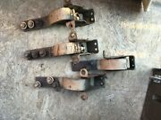 1964 Ford Galaxie Mercury Front Door Hinges -both Rit And Lt Upper And Lower Pairsandnbspandnbsp