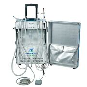 Portable Dental Unit With Air Compressor+strong Suction+curing Light+scaler 4h