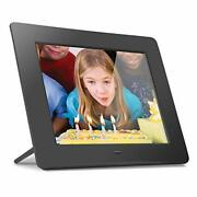 Aluratek 8 Lcd Digital Photo Frame W/4gb Built-in Mem And Usb Sd/sdhc Support ...