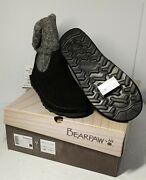 Bearpaw Virginia Boots 2133w - Womenand039s Size 9 - Black Knit 902