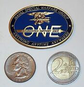 Challenge Coin - Naval Special Warfare Group 1 - Nswg-1 - Logistics Support Unit