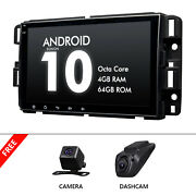 Dvr+cam+dsp 8 Ips 2 Din Car Stereo Android 10 4+64g Gps For Chevrolet Gmc Buick