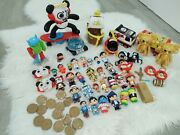 Ryan's Toy World Figures 60+ Toys Panda Skateboard Pirate Ship Coins Helicopter