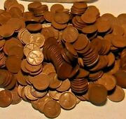 1909-p-1909-vdb-teens-20's-40's-50's-pds 10-bag 1,500 Approx. Coins