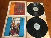 Lot Of 2 Sears Lps Alice In Wonderland And Other Stories And Wizard Of Oz 1969ex/ex