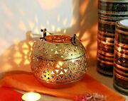 Wrought And Cast Iron Candle Holder Lamp Lantern Wall Hanger Hook Home Decor Gift