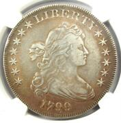 1799 Draped Bust Silver Dollar 1 Coin - Certified Ngc Xf Details Ef