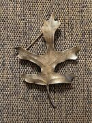 Vintage Rare Retired Sterling Silver James Avery Maple Leaf Pin Brooch