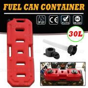 30l Fuel Oil Container Spare Petrol Cans Fit For Wrangler Toyota Accord Atv Utv