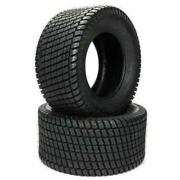 Pair Millionparts 16x6.50-8 4ply Lawn Mowers 620lbs Tires Tubeless