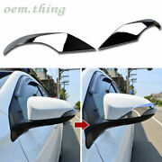 Fit For Toyota Camry Prius C Yaris 5dr Corolla Auris 5d Side Mirror Cover Chrome