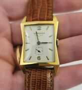 Vintage Art Deco Hourglass Longines Gold Filled Watch Works