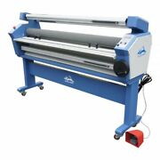 Us Stock 55in Full-auto Wide Format Cold Laminator Laminating With Heat Assist